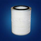 Filtro Cartrid dalla polvere dell'aria del filtrante di alta efficienza HEPA/del cilindro rivestimento della polvere