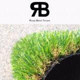hierba sintetizada del césped artificial del césped de la alfombra de 20m m para la decoración del jardín