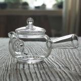 創造的な耐熱性ガラス茶メーカーのホウケイ酸塩ガラスの緑茶メーカーのギフトの茶鍋