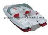 Шлюпка мотора стеклоткани Aqualand 17feet/рыбацкая лодка спорта/скорость Bowrider (170)