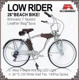26 Strand-Kreuzer-Fahrrad-niedriger Mitfahrer