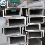 Hecho en barra de hierro en U del acero inoxidable del precio competitivo 316L de China