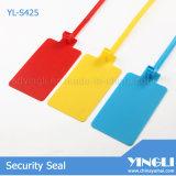 Les Sceaux de sécurité en plastique avec une grande étiquette (YL-S425)