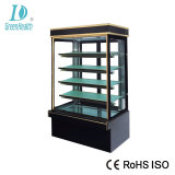 preço de fábrica vidro temperado Bolo de padaria vitrina de exposição
