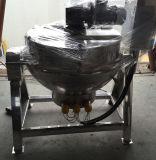 Beklede het Mengen zich van het Voedsel van het roestvrij staal Ketel met Mengapparaat