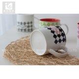 Cristal Color 14oz porcelana taza de café de diseño personalizado