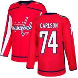 Washington-Kapital-Bäche Orpik John Carlson Connor Hobbs HockeyJerseys