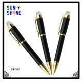 Penna esecutiva di qualità superiore del metallo della penna di sfera del regalo per il commercio