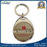 Anello chiave di promozione del ricordo del metallo su ordinazione del regalo