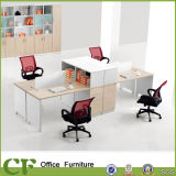 Guangzhou Chuangfan mobília moderna estação de trabalho de escritório partição para 6 Pessoa
