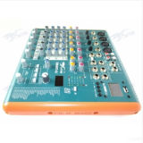 De Professionele Mini AudioDJ Mixer van slim-62 6channels