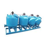 Filtro de areia automático da filtragem do desvio para a água de circulação