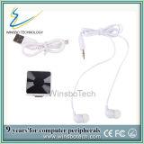 2014 Melhor Venda Auscultadores Bluetooth estéreo com HD player de MP3 /Colar Design Clip fone de ouvido Bluetooth