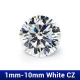 Zirconia самоцветов 1mm 1.25mm 1.5mm AAA CZ белый кубический для jewellery