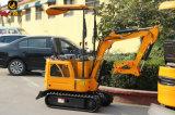 Projeto pequeno máquina escavadora da esteira rolante de 0.8 toneladas mini para o jardim