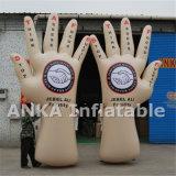 새로운 디자인 큰 팽창식 PVC 손 종려 모양 풍선