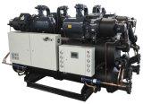 Industrial digital de velocidad variable de tornillo refrigerado por aire Enfriador de agua