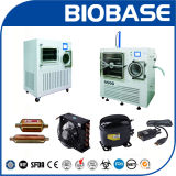 Biobase prova o secador de gelo do Lyophilizer do ~ +70c da temperatura -55c
