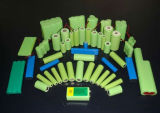 9V 120mAh容量のNICD電池