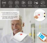 Het draadloze GSM Bejaarde Sos Alarm van de Noodsituatie van de Hulp