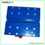 固体転換ボックス移動ツール鋼鉄4車輪のトロッコ