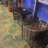 余暇の鋳造アルミの表および椅子