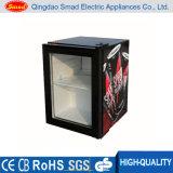 Supermarkt-Miniglastür-Getränk-Bildschirmanzeige-Kühlvorrichtung