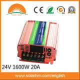 (HM-24-1600-N) 20A 관제사를 가진 24V1600W 태양 잡종 변환장치