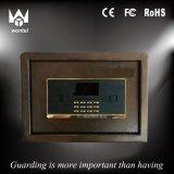Mini contenitore di cassaforte di obbligazione della prova di fuoco dell'hotel del fornitore poco costoso della Cina