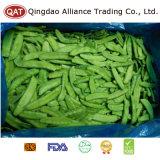 Qualidade superior de vagens de ervilha congelada para exportar