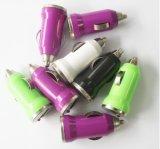 탄알 5V USB 이동 전화 무선 차 충전기
