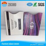 Scheckkarte-Sicherheit RFID, die Hülse blockt