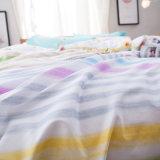 Hoja de base de la cubierta del edredón del algodón de la buena calidad de la fabricación de China