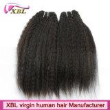 Волосы камбоджийского Weave человеческих волос Kinky прямые