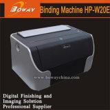 Trous électriques du fil 34 de bureau de Boway 12.7mm doubles (3 : 1) machine à relier HP-W20e de livre de fil