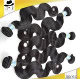 Волна человеческих волос полной надкожицы бразильская