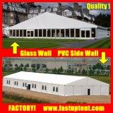 De duurzame Dubbele Tent van het Dek met ABS van de Muur van het Glas Muren