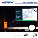 Afficheur LED polychrome d'intérieur du mur P4 de DEL