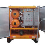 Vacío de tipo móvil purificador de aceite de transformadores de la Regeneración de aceite de máquina