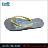 Мультфильм обычная пляжа Шлепанцы повседневная обувь для женщин