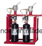 68Lは特別な消火の弁および帽子が付いている消火器シリンダー(二酸化炭素の種類)を空ける