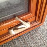 Окно американского типа деревянное алюминиевое для окна рукоятки конструкции решетки клиента Калифорния США
