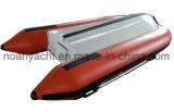 Petit bateau en aluminium de côte de PVC/tube de Hypalon à vendre