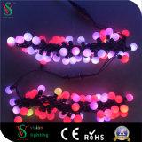 Bola de LED de luz de la cadena de Navidad decorativos para decoración de jardín