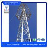 Провод поставщика Китая поддерживая гальванизированную башню Guyed радиосвязи