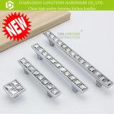 Quadratischer Diamant-Zink-Möbel-Luxuxgriff