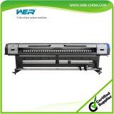 Imprimante à jet d'encre approuvée de dissolvant d'Eco de qualité d'OIN de la CE Wer-Es3201