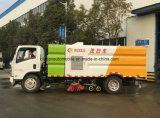 Camion scopante e di pulitura della strada della spazzatrice 6000L delle rotelle di Isuzu 6
