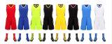 Basket-ball fait sur commande Jersey Sportwear de sublimation d'uniformes bleus faits sur commande de basket-ball
