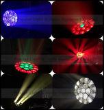 Endloses Umdrehung B-Auge 19X15W LED bewegliches Hauptsummen-Licht